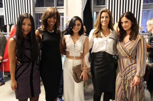 SFSLA VIP night with Reena De Asis, Shaun Robinson, Vanessa Hudgens, Tracy Brennan and Minka Kelly