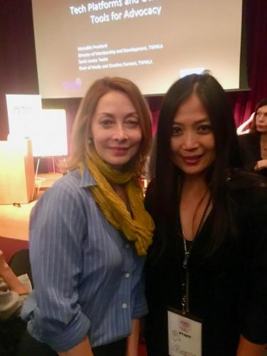 WeHoWLC with Sharon Lawrence and Reena De Asis