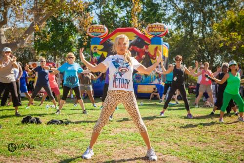 5K Power Walk Tracy Anderson